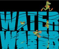 water-words